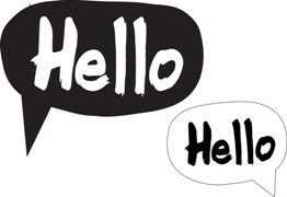 "Image of the word ""hello"""