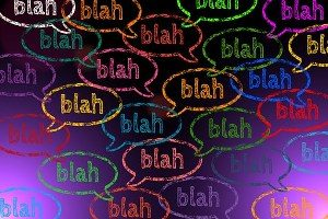What should I study - image of the word 'blah' in a word bubble