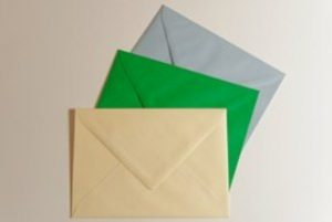 How to pick the right school - photo of three envelopes