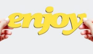 how not to lose your study interest image of the word 'enjoy'