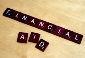 "Image of the words ""Financial Aid"""