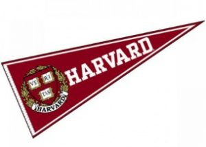 how not to lose your study interest image of a 'Harvard' wall flag