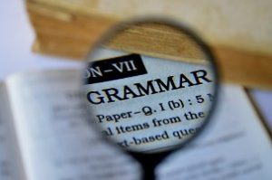 Why is grammar important? Grammar image