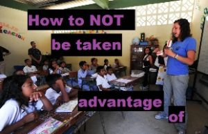 How to not be taken advantage of during teaching practice main image of a classroom