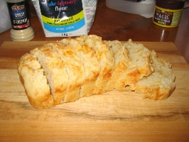 Cheap recipes: Image of cheese and onion bread