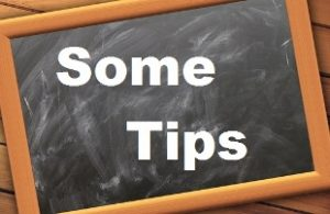 "How to not be taken advantage of during teaching practice image of the words ""Some Tips"" written on a blackboard"