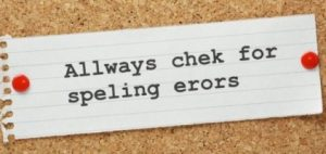 Why is grammar important? Always check for spelling errors image