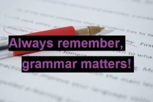Why is grammar important? Always remember, grammar matters main image